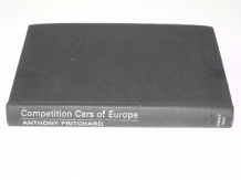 Competition Cars of Europe (Pritchard 1970)